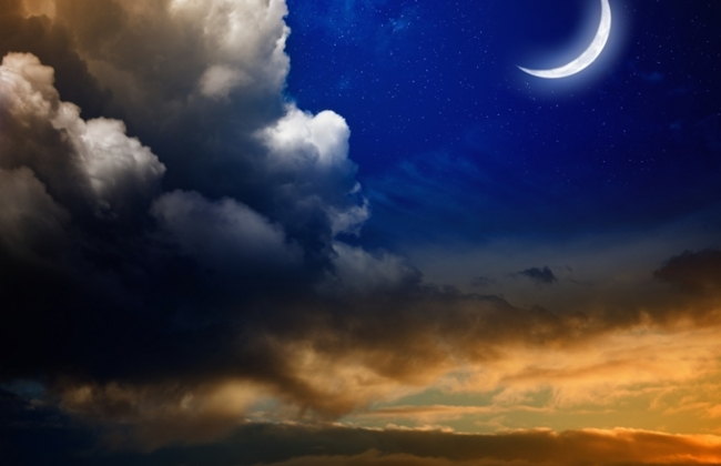 Νέα Σελήνη στον Ταύρο στις 26 Απριλίου 2017.