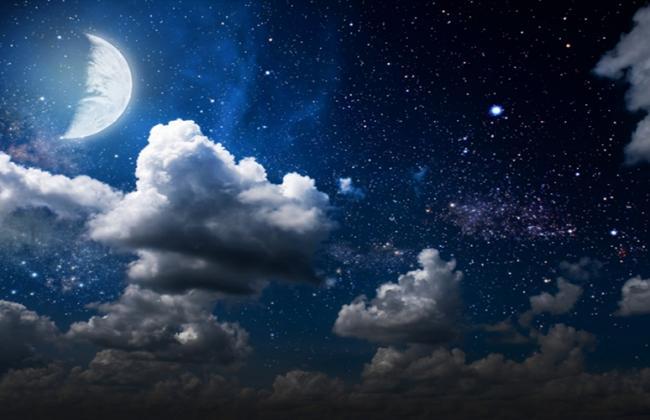 Η Σελήνη στα 12 ζώδια στον αστρολογικό χάρτη.